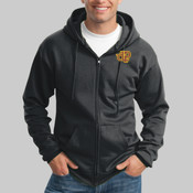 PC90ZHT.e <> Tall Ultimate Full Zip Hooded Sweatshirt <> Embroidered (.225.265)